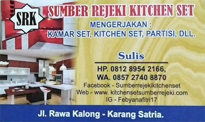 Kitchen Set Di Harapan Indah